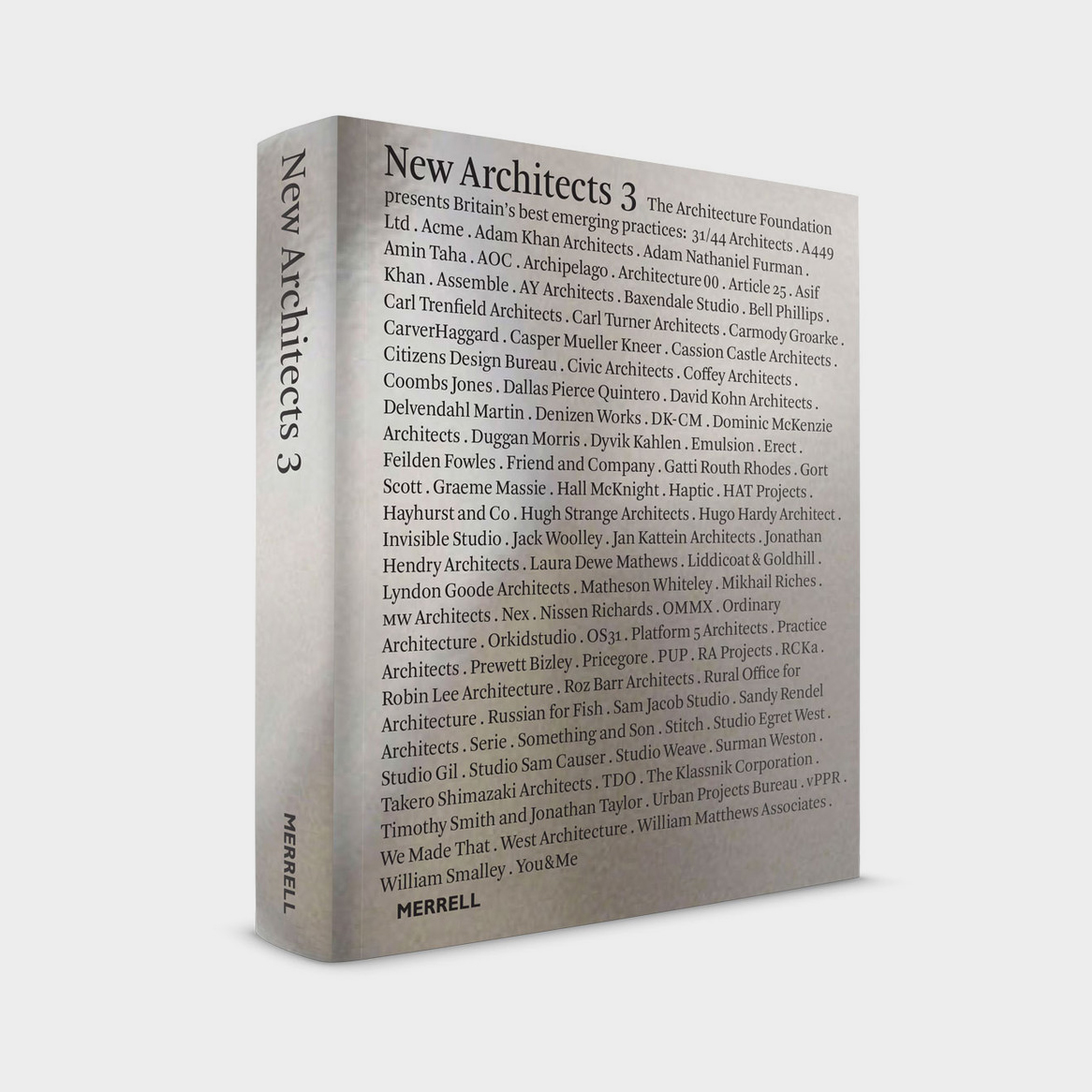 BPA included in New Architects 3