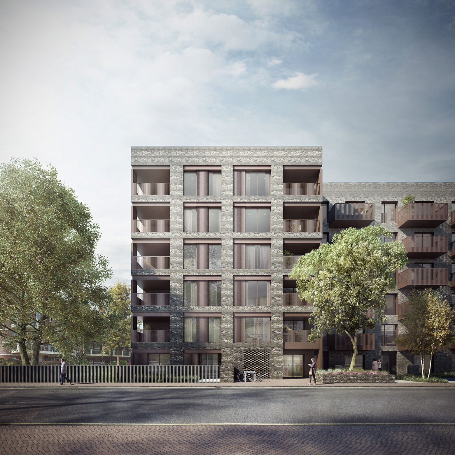 Planning consent for new homes in Southwark