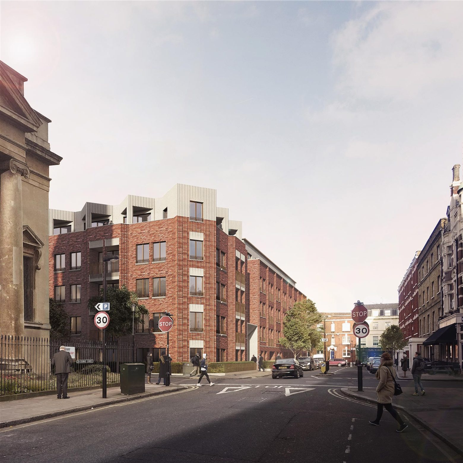 Cosway Street Submitted for Planning
