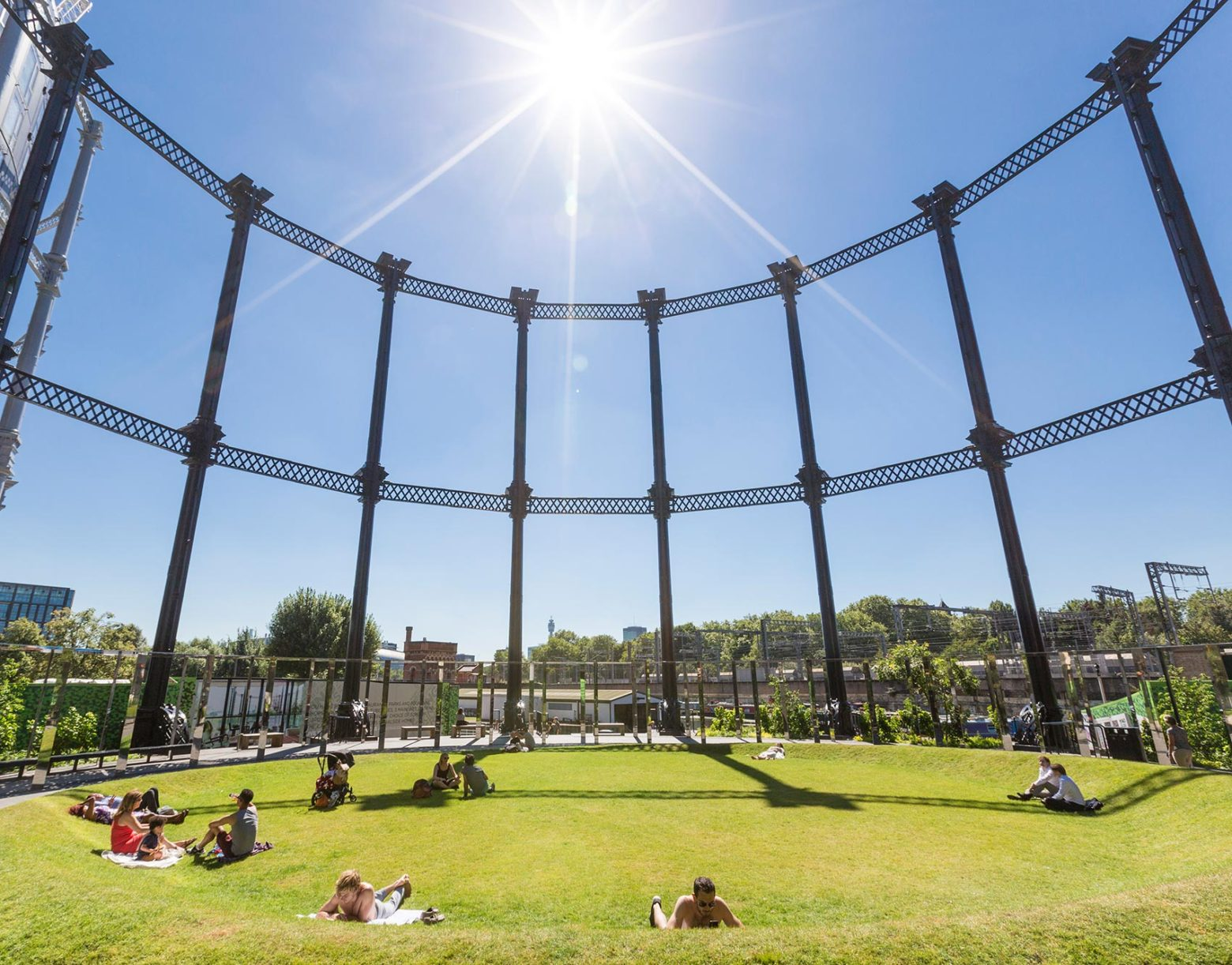 Gasholder Park Commended in Camden Design Awards
