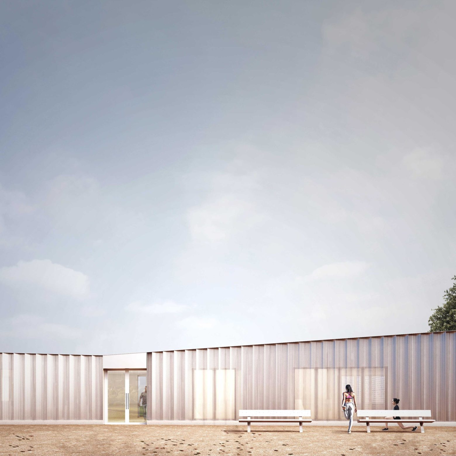 Planning submitted for new sports centre in Burgess Park