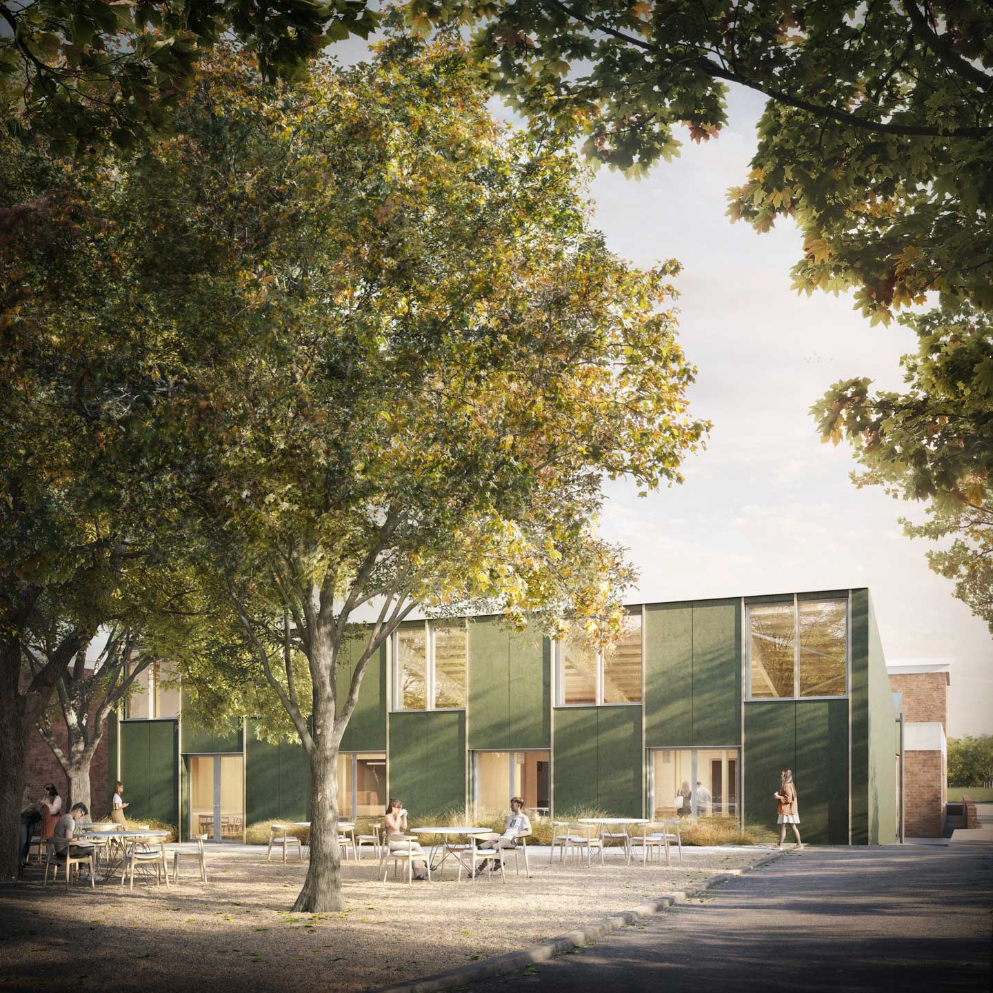 Planning granted for new school dining hall
