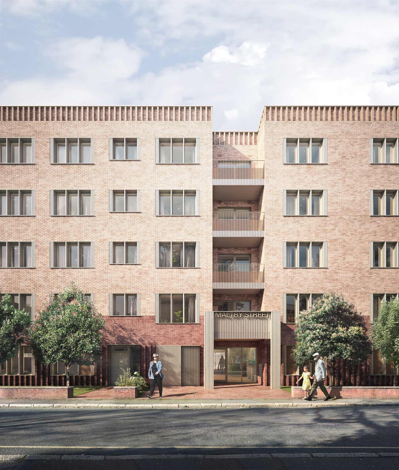 Planning submitted for affordable homes in Southwark