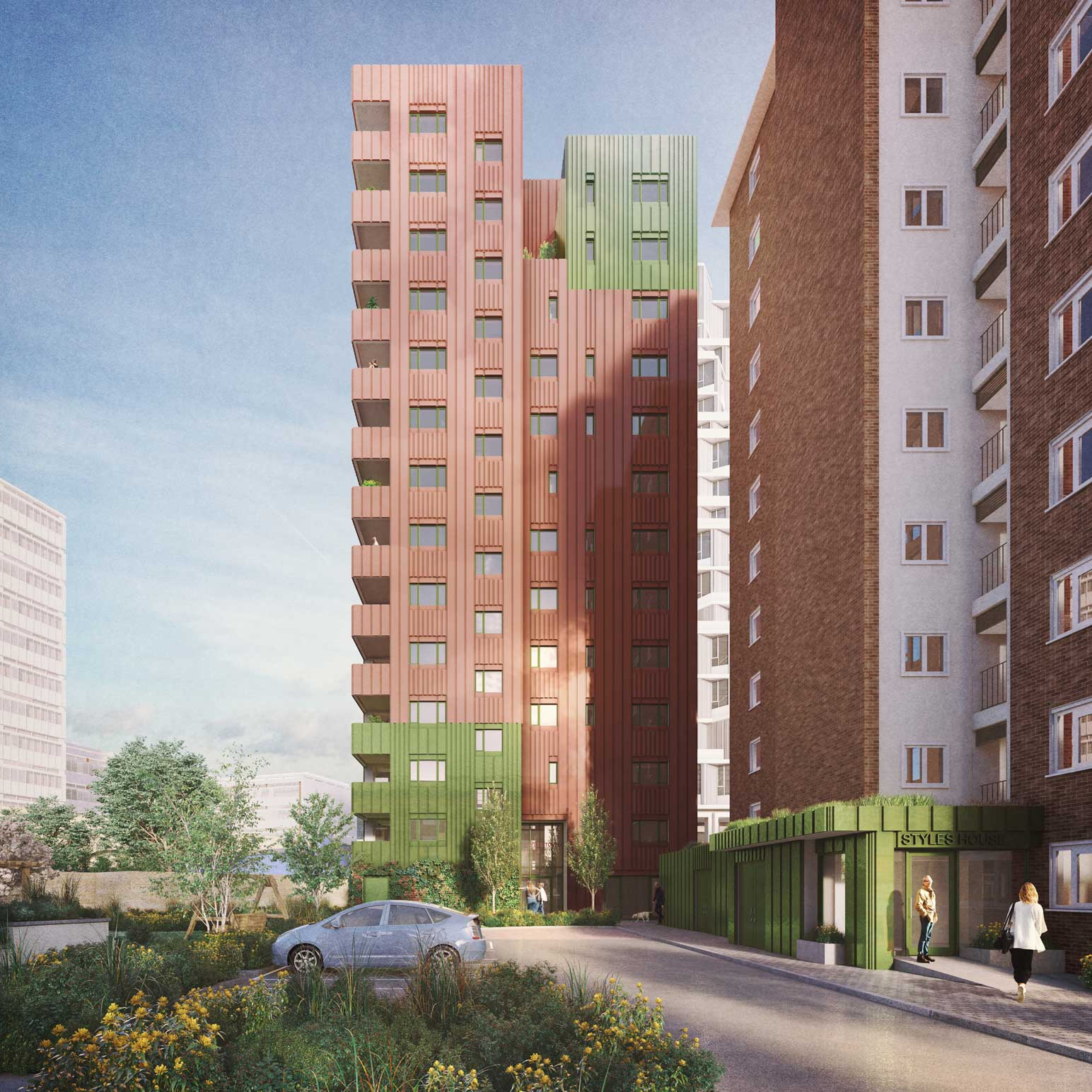 Planning granted for community-led housing