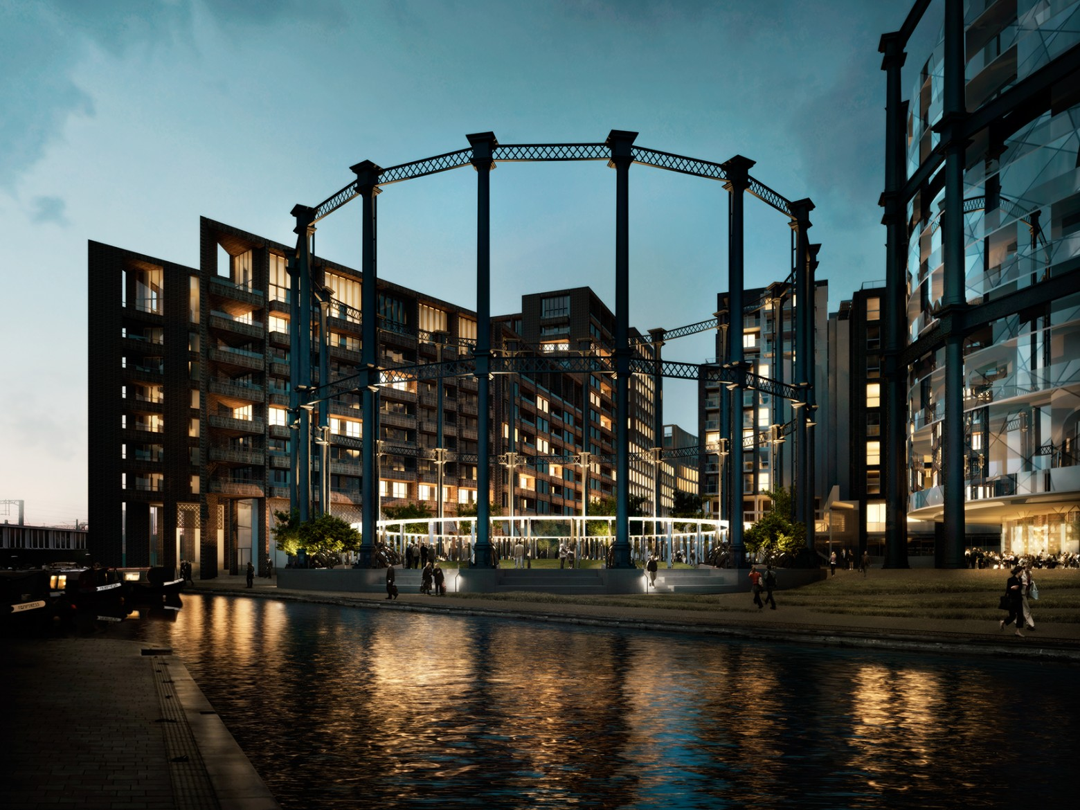 Gasholder No.8 granted consent
