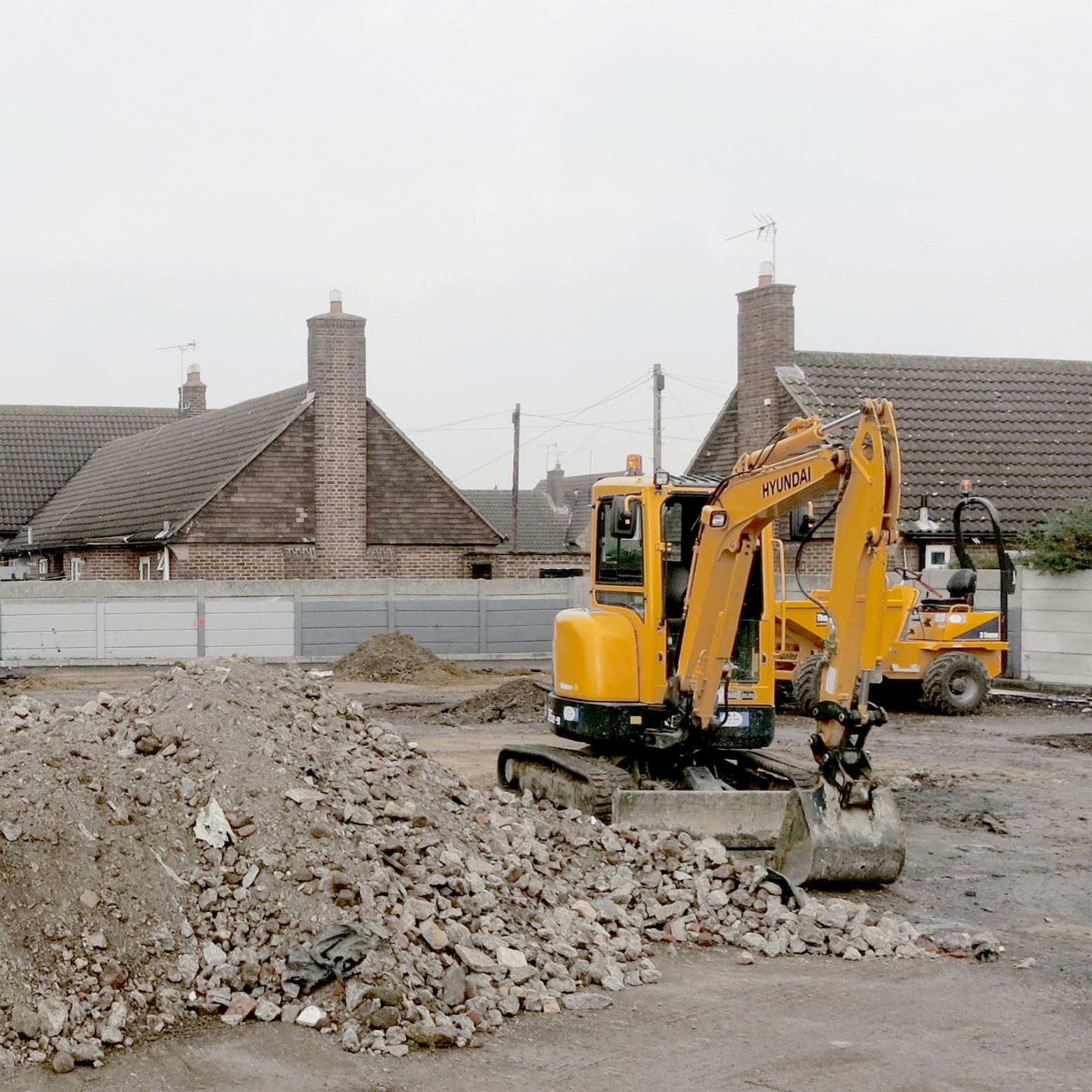 Construction begins on Bruyn's Court
