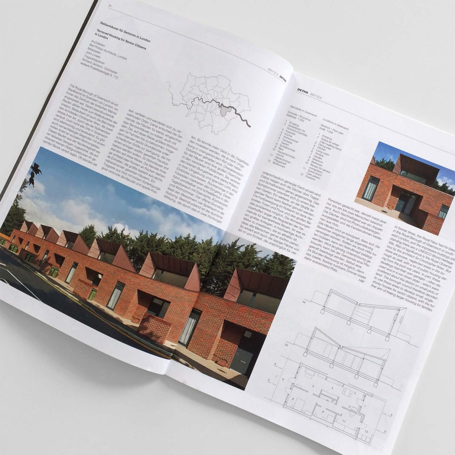Greenwich Housing in Detail Magazine
