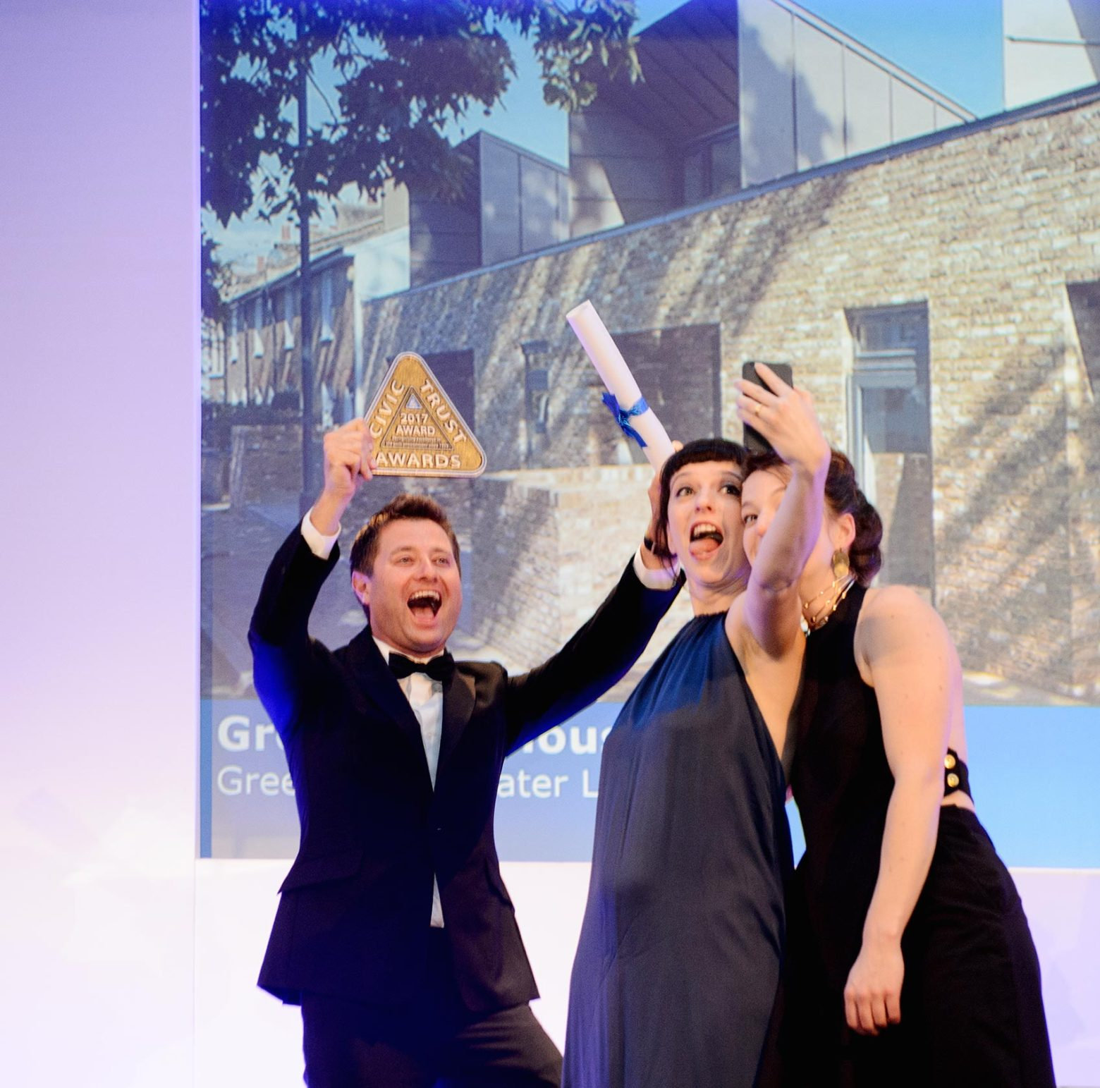 Greenwich Housing receives two Civic Trust Awards