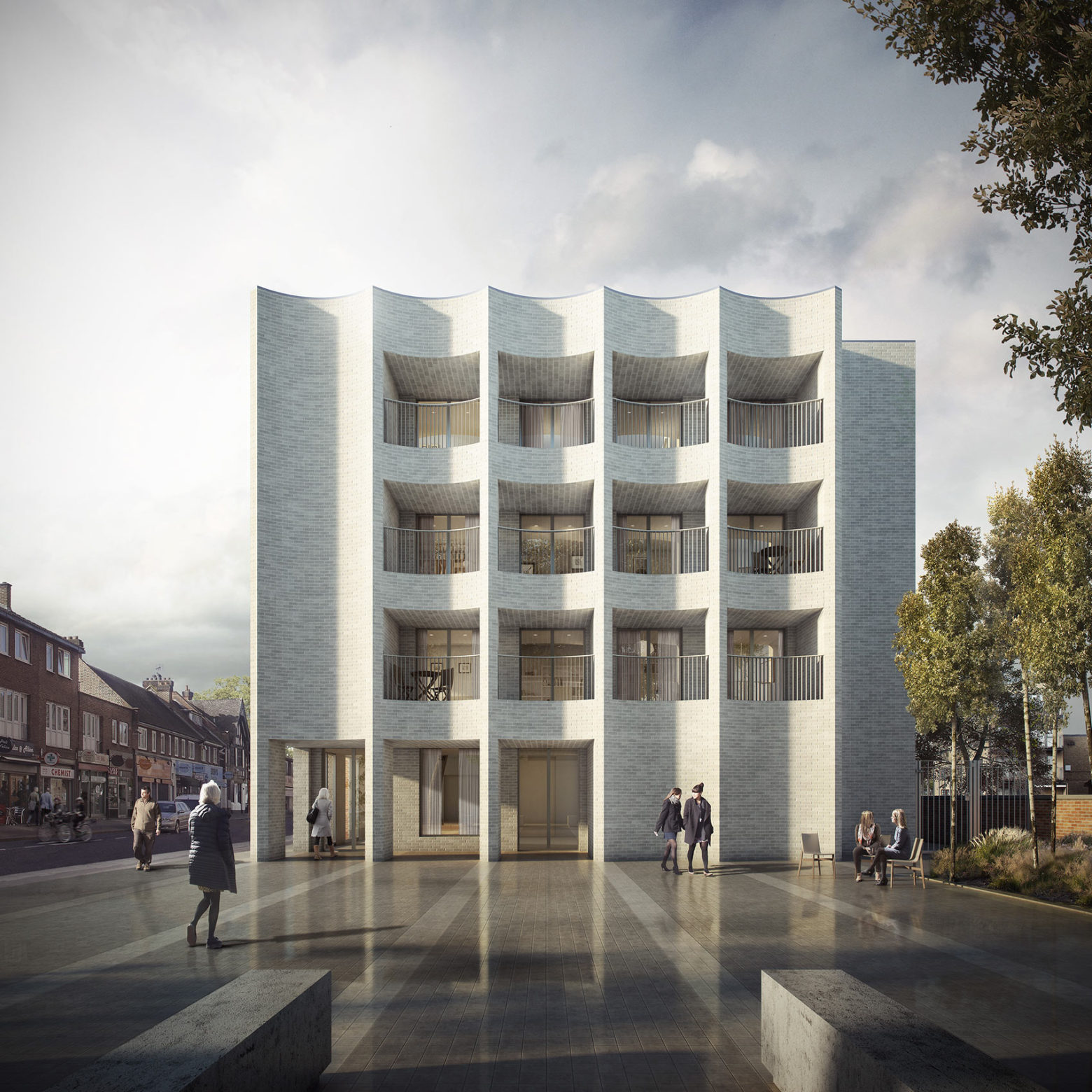 Planning consent granted for new homes in Southwark