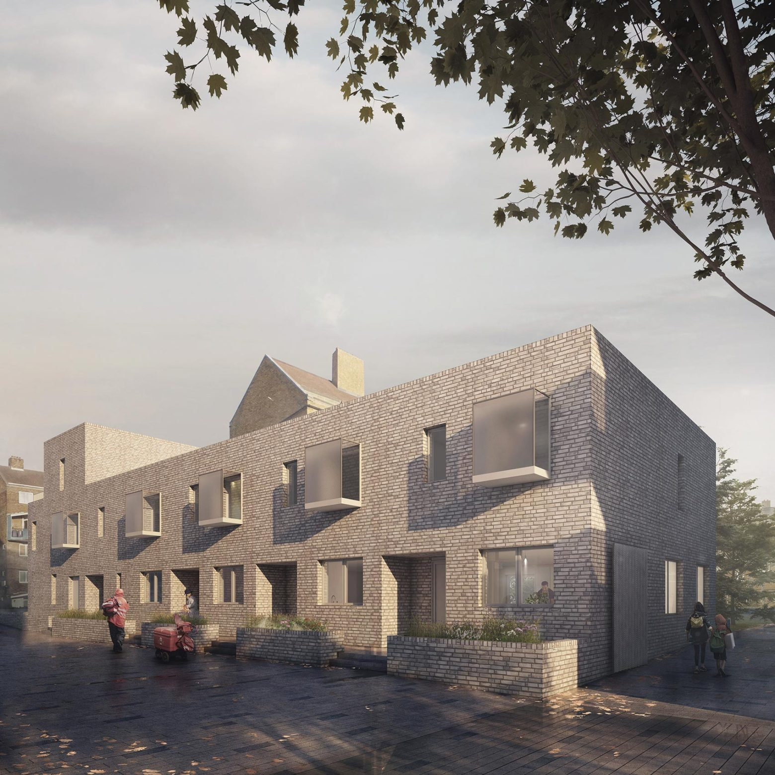Planning submitted for community-led housing