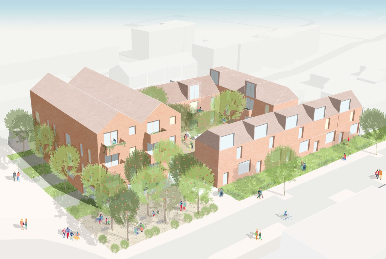 BeFirst selects Bell Phillips Architects for new housing in Dagenham