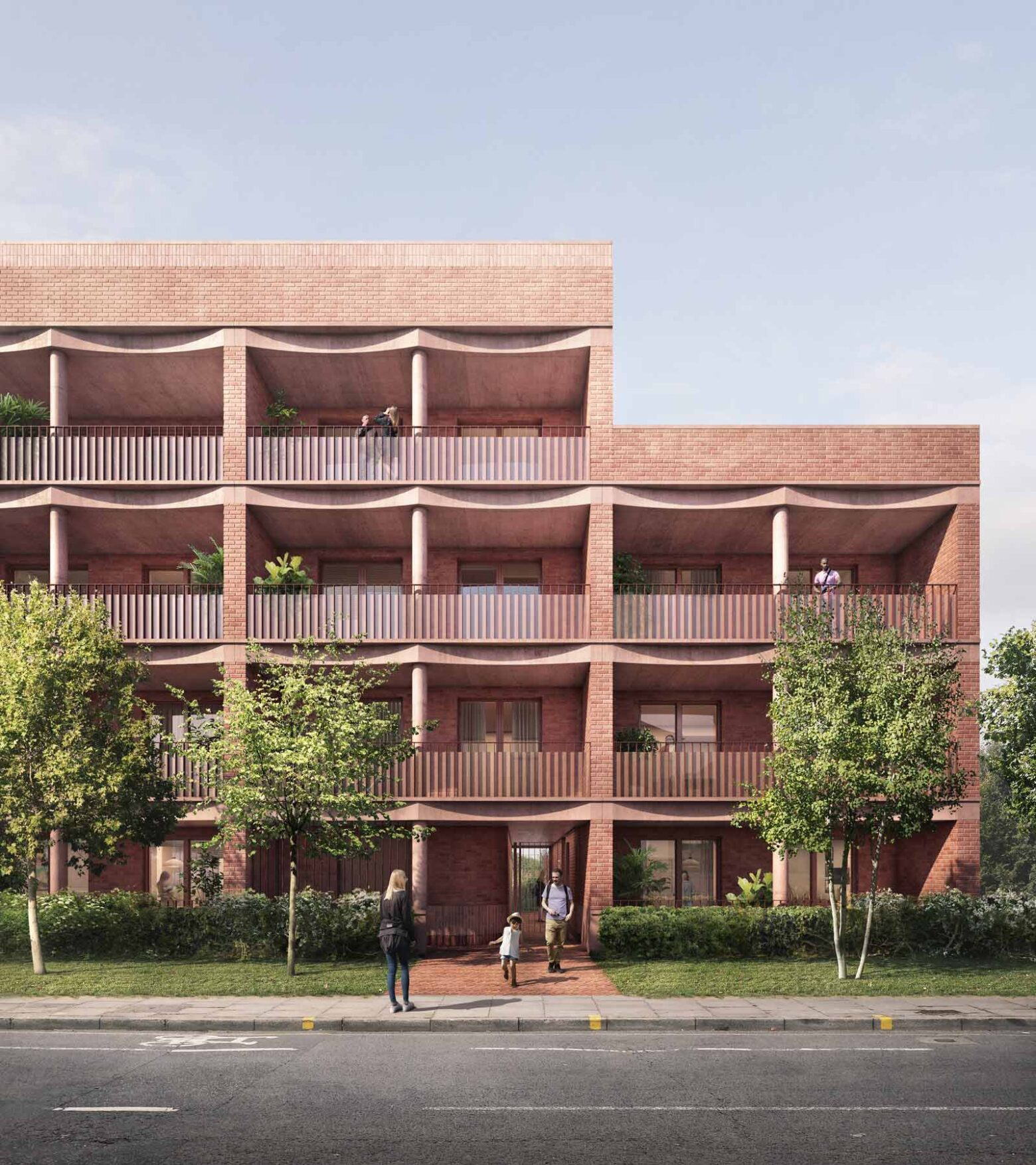 Planning submitted for new homes in Ealing