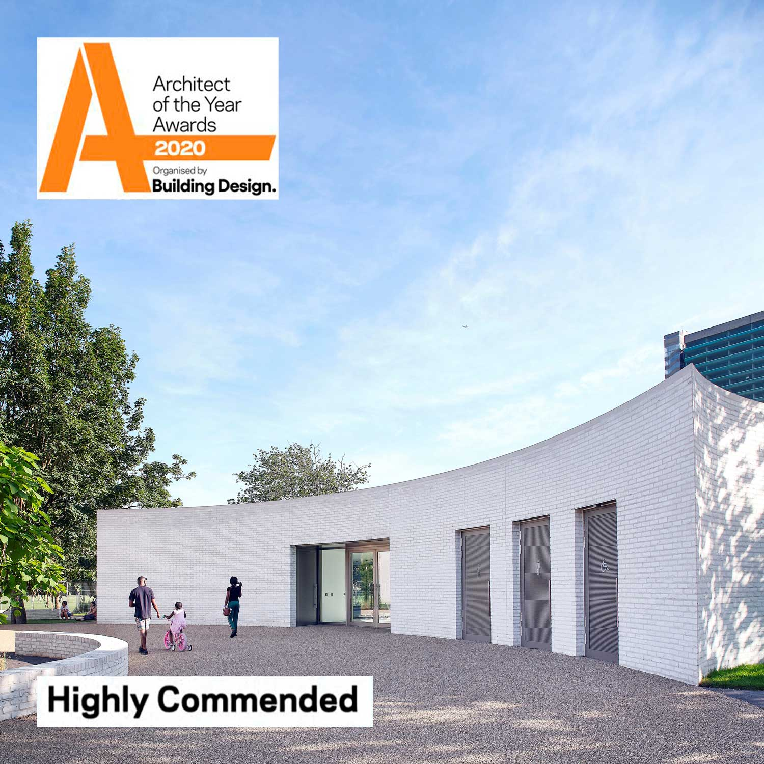 Highly Commended in Architect of the Year Awards
